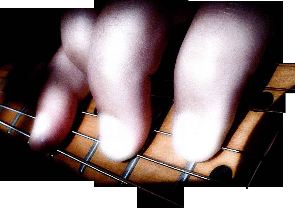 Mano izquierda de Enrique Mateu